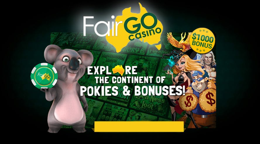 20 Free Spins and more bonuses offered by Fair Go Casino