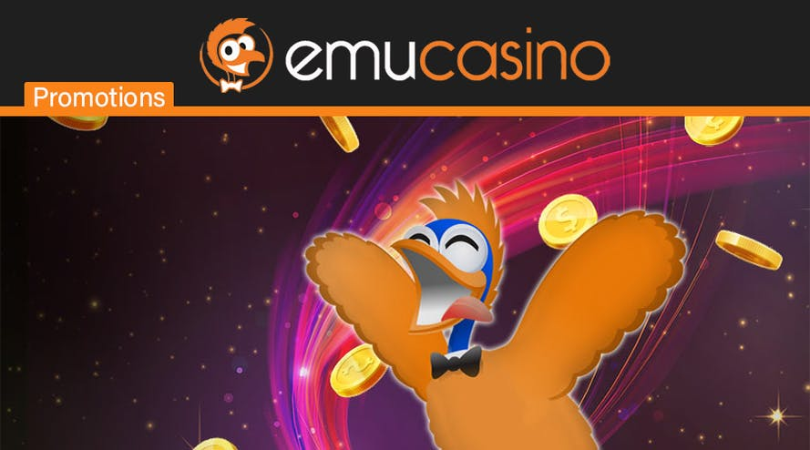 Emu Casino offers a $300 Triple Deposit Bonus to AU players