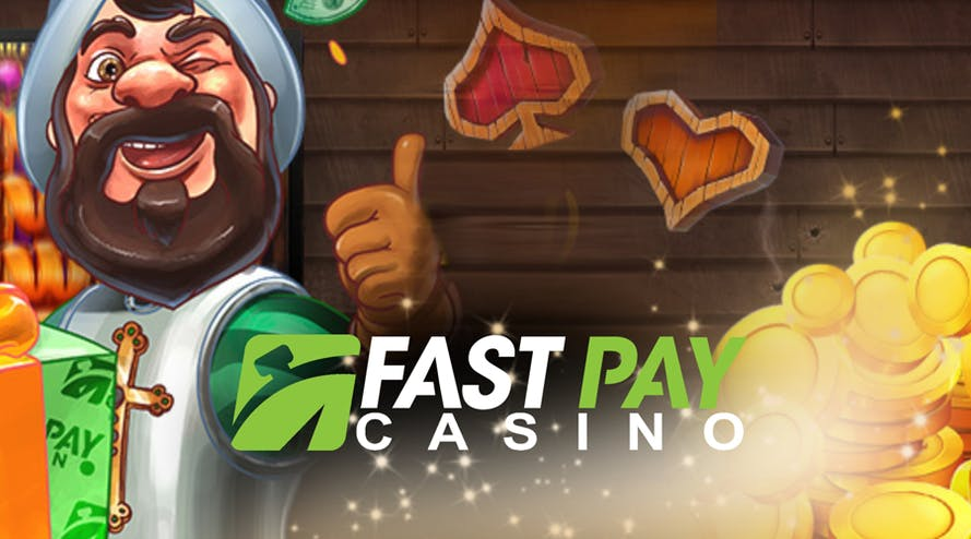 Fastpay doubles the first deposit and rewards 100 free spins