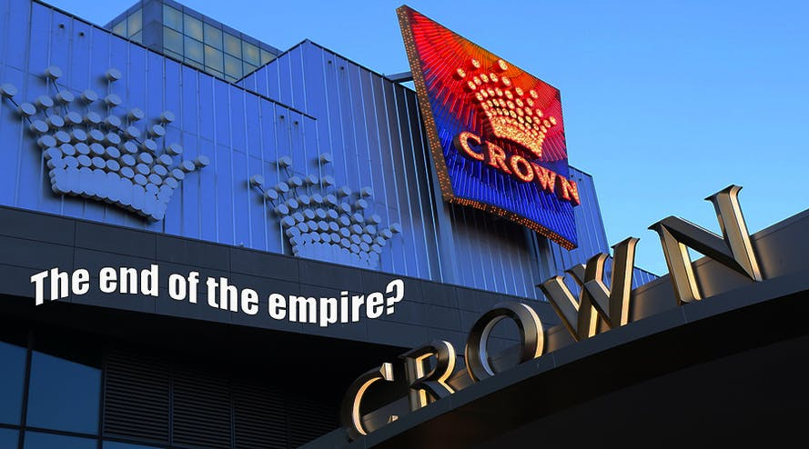 Flooded with questions Crown's annual meeting