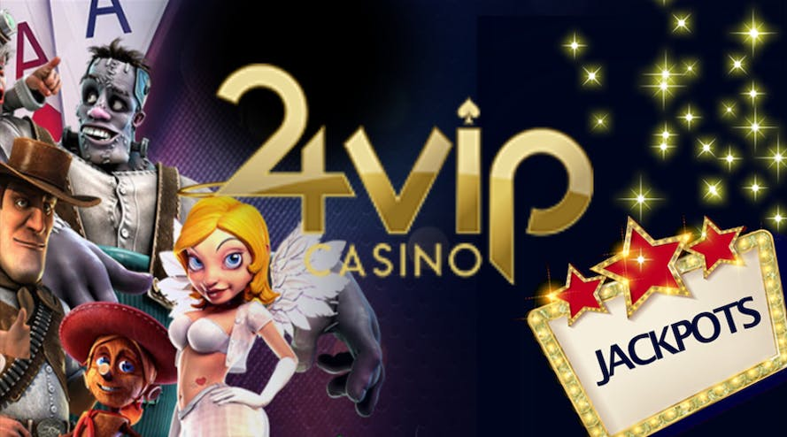 24VIP Casino has a 250% welcome offer and other bonuses