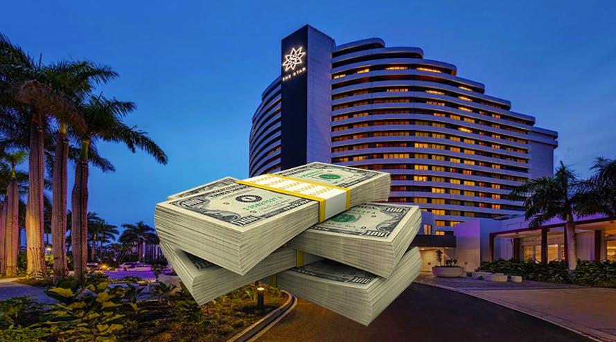 Australia in debt with the Singaporean businessman