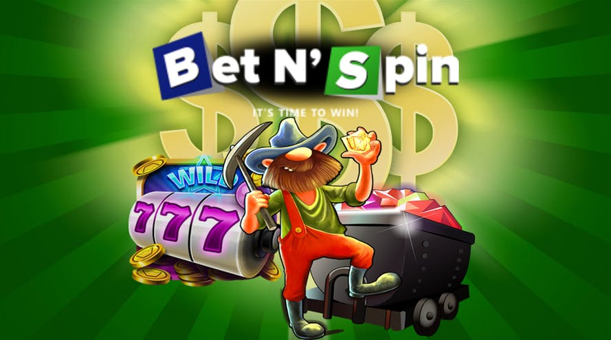 Bet'N'Spin online casino offers an amazing welcome package