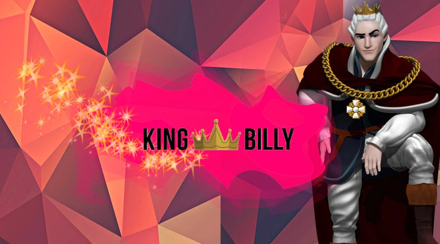 King Billy casino has a $1500 or 5 BTC WELCOME BONUS with 200 free spins