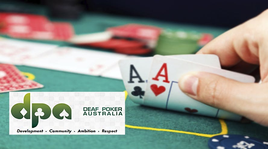 The scandal on the Deaf Poker Australia Championship