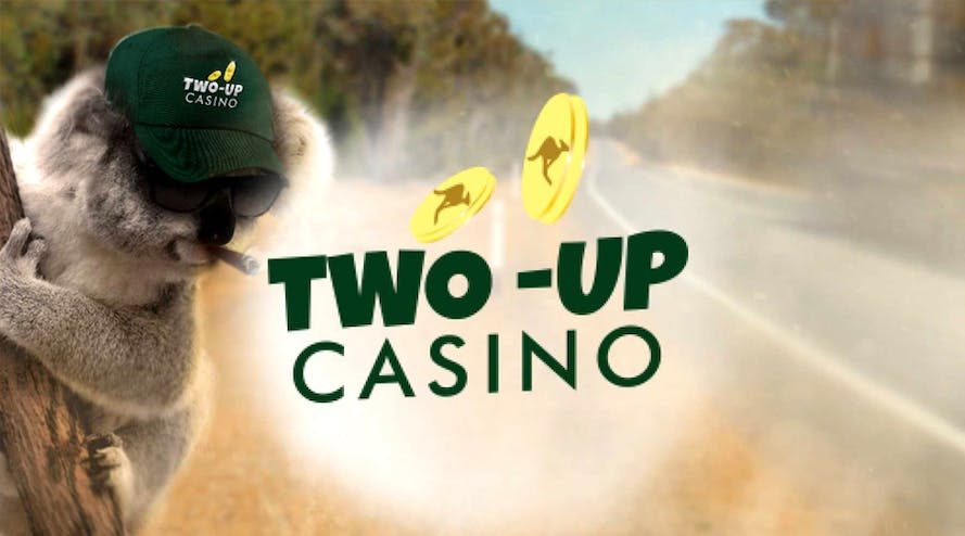 Two-Up Casino gives a 300% match bonus to new users