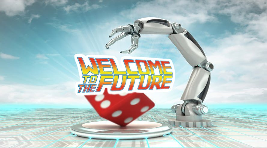 Vacancy for the robot casino dealer is opened!