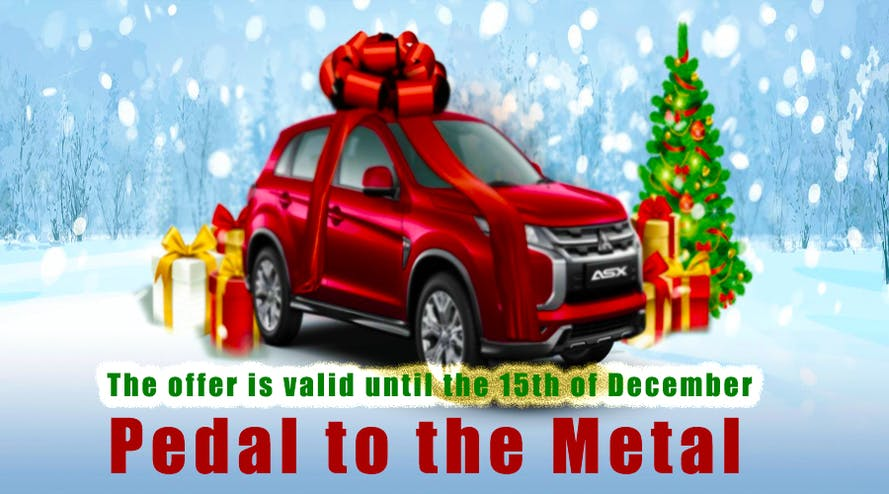 Merry Christmas: 21Dukes casino gives you the chance to win the Mitsubishi ASX 2020