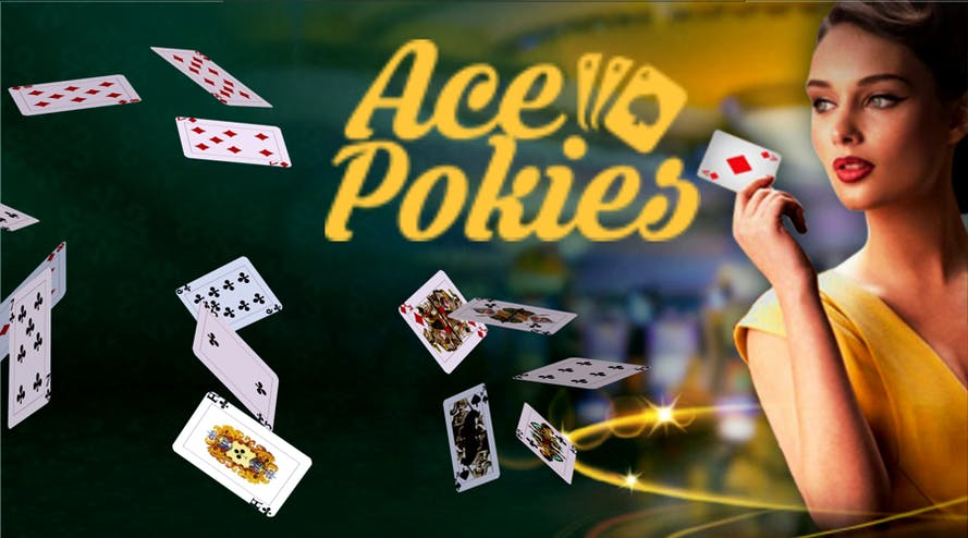 AcePokies welcome package includes $1000 and 50 free spins