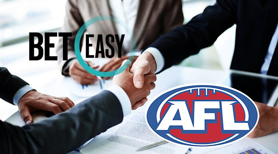 AFL and BetEasy sign a €4.9 million partnership