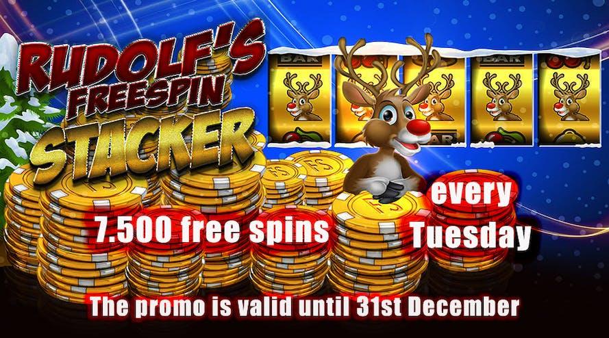 Every Tuesday BondiBet casino offers 7,800 Xmas Free Spins