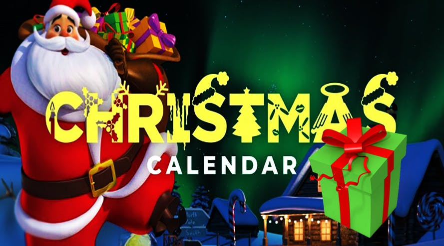 Check the Christmas Calendar and claim daily exclusive prizes with Casdep Casino