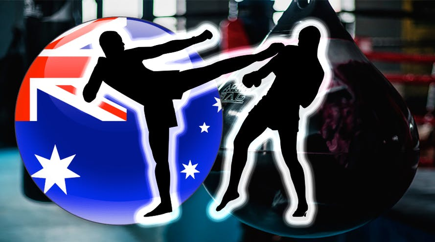 Four outstanding Australian Thai-boxing fighters