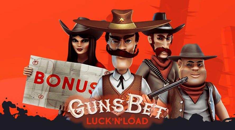 GunsBet Casino: 100% welcome bonus + 100 free spins