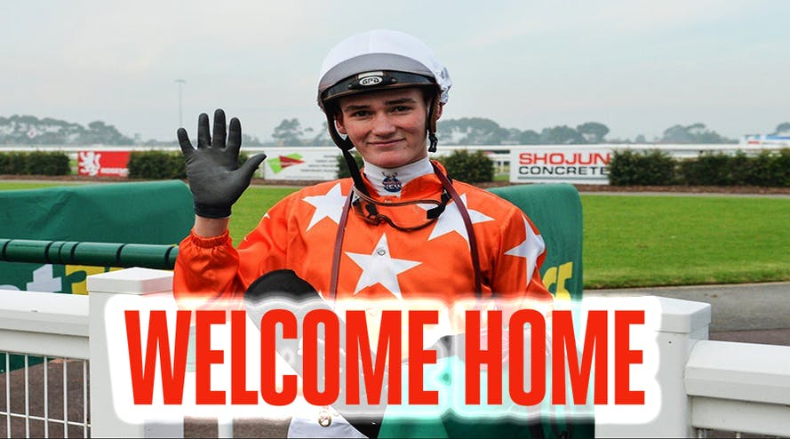 Jockey Regan Bayliss will be ending his contract in China and returning to Melbourne