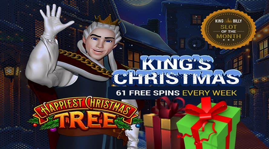 Spend your Christmas like a King with the King Billy casino