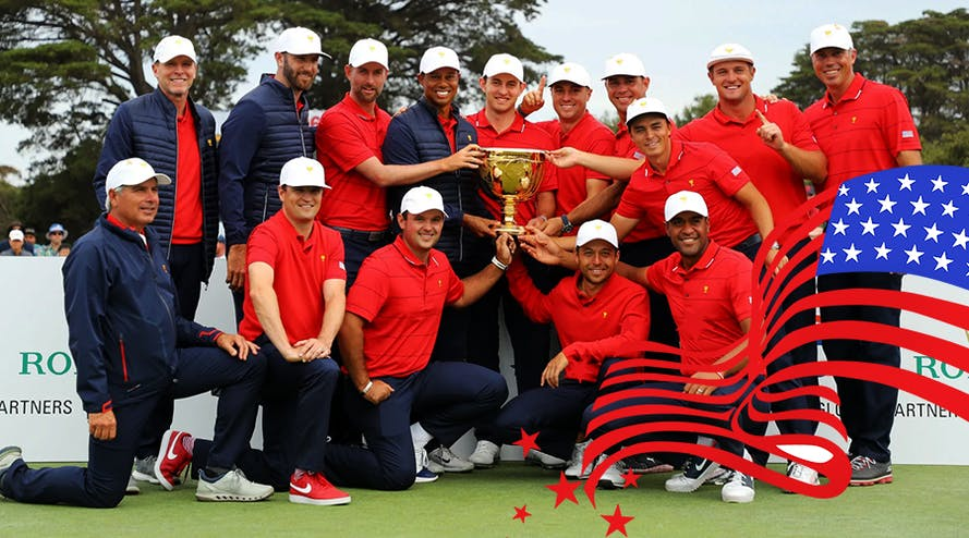 The US golf team won the 2019 Presidents Cup