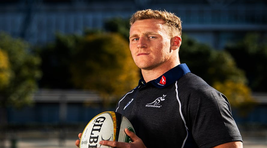 The world-class rugby goal kicker Reece Hodge stays in Melbourne until next Rugby World Cup