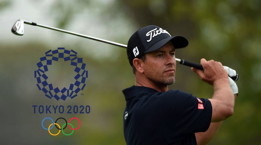 Adam Scott to come back during the 2020 Tokyo Olympics