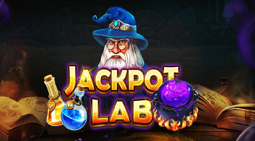 Feel like a real wizard with a new slot game Jackpot Lab
