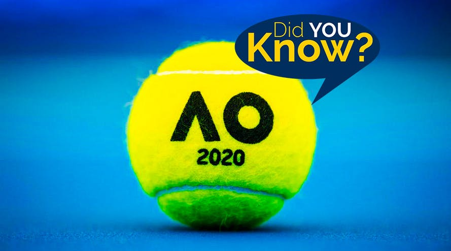 Interesting facts about Australian Open 2020
