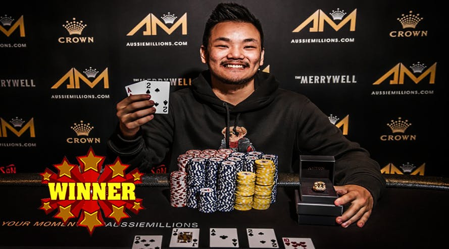 Jo Snell became the winner of the 2020 Aussie Millions Opening Event