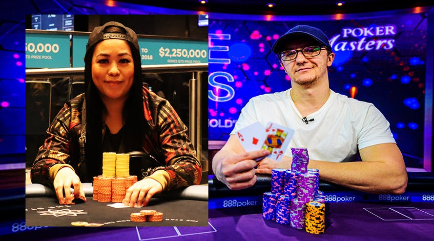 Kahle Burns and Connie Graham named the best Australian poker players of the last year