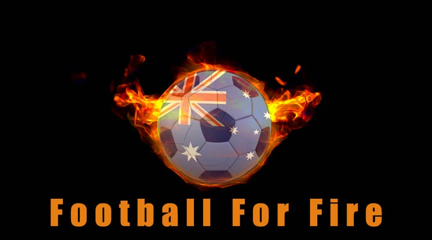 Soccer stars will gather in the Australian match of Football For Fire