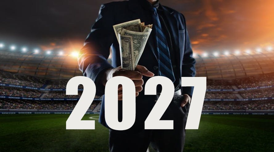 Sports betting will be valued up to $608 billion by 2027