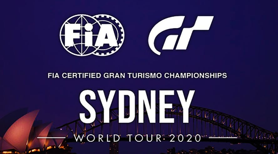 Sydney will host the best esports players at the FIA Gran Turismo Championship