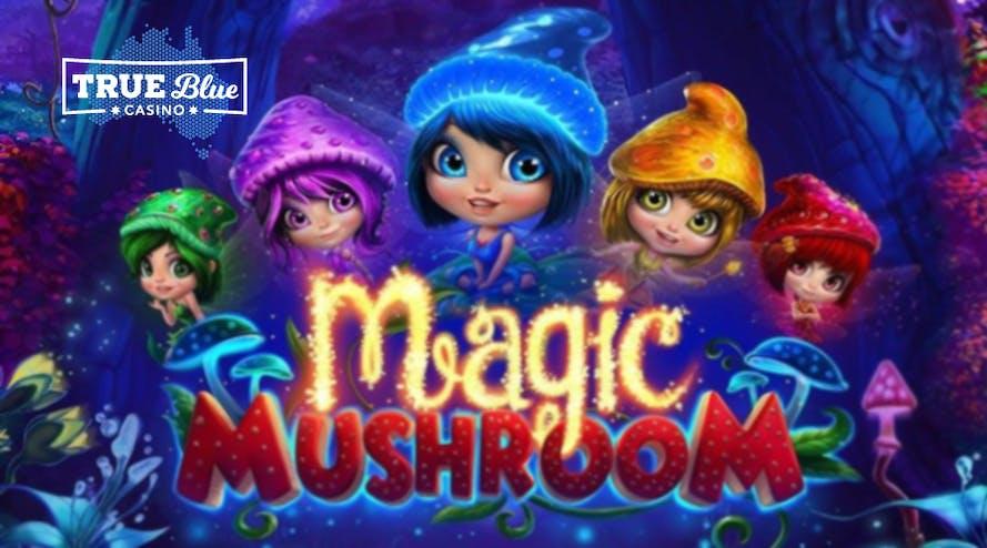 Unearth the 300% bonus on the Magic Mushroom pokie