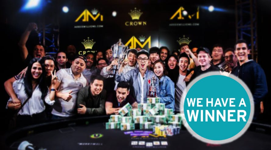 """Vincent """"Wonky"""" Wan becomes the winner of Aussie Millions 2020"""