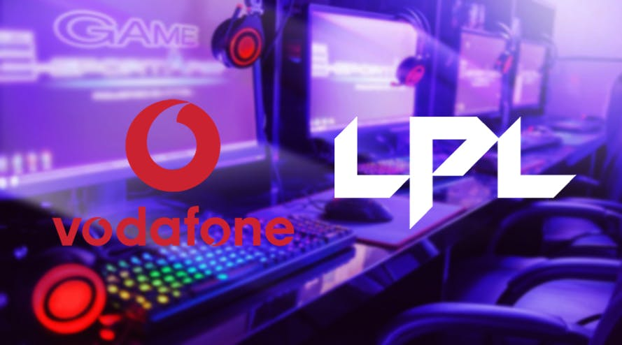 Vodafone will be one of the major sponsors of the Esports LPL's High School League 2020