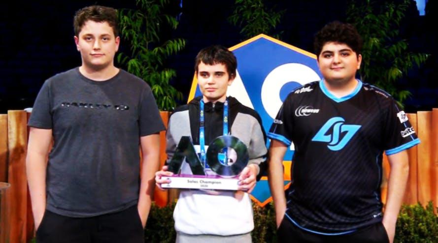 Breso is the new winner of the Australian Open Summer Smash Fortnite 2020