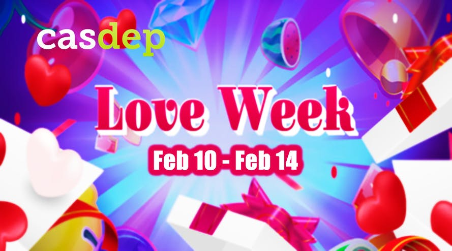 It's time to get Valentine's Day gifts from Casdep сasino