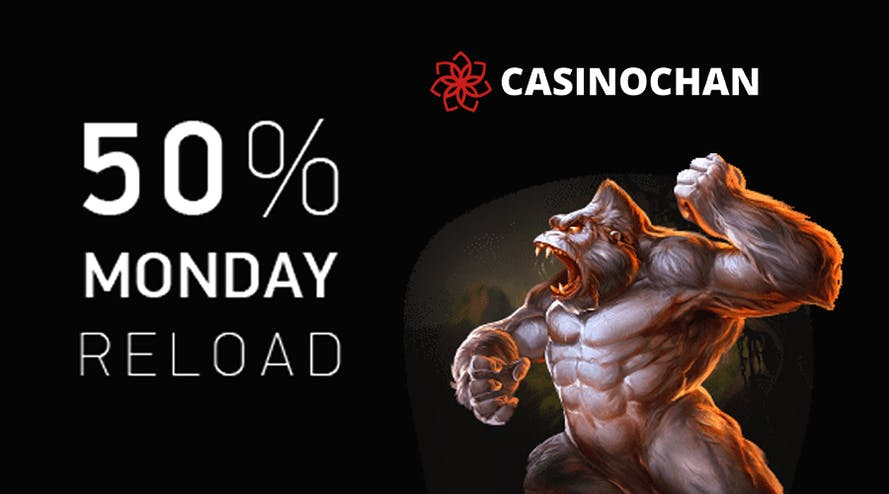 Casinochan develops Monday Reload with exciting offers