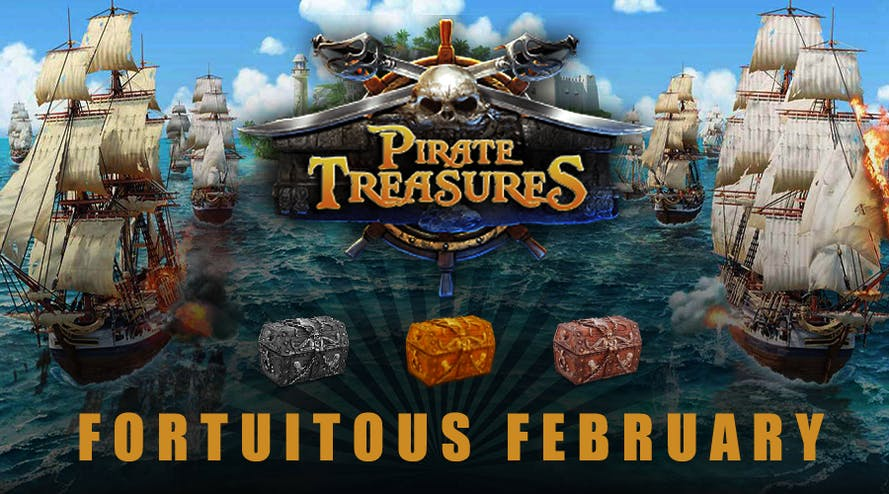 Every day Winward casino offers Pirate Treasures chest