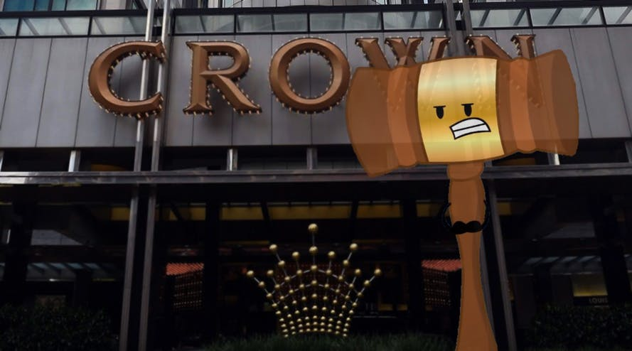 Melco Crown inquiry reached court