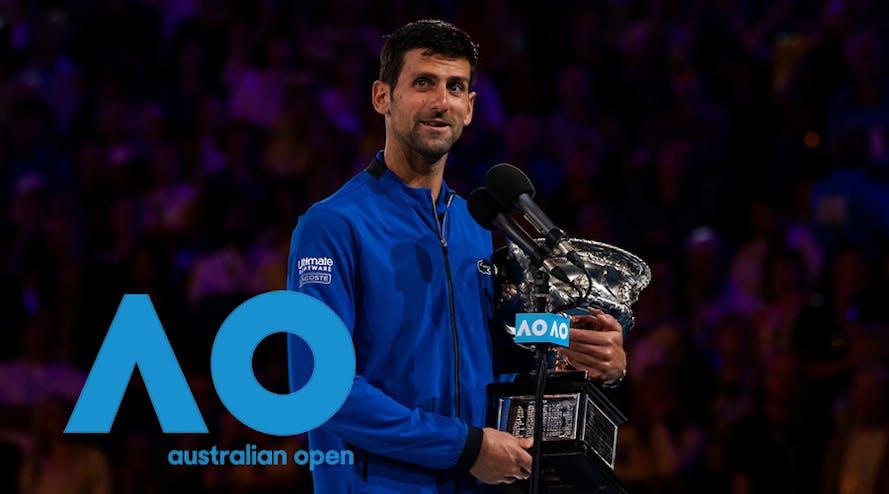 Novak Djokovic became the winner of the Australian Open 2020
