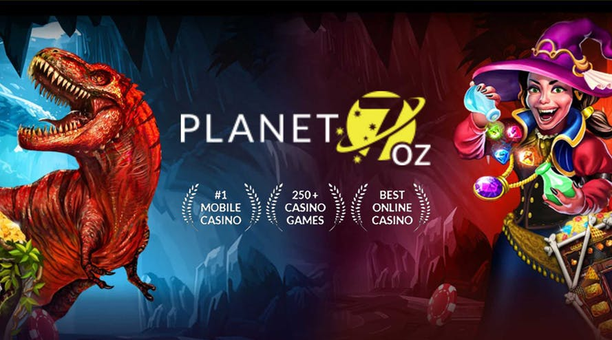 Planet 7 Oz gives its new players a $4,000 bonus and 55 free spins