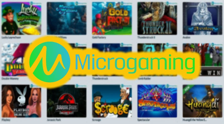 Top 5 slot games released by Microgaming