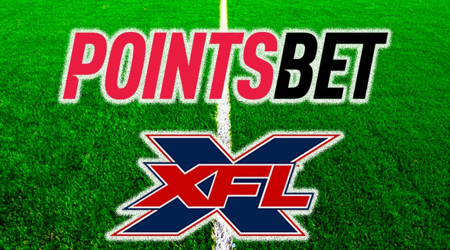 Pointsbet announced a partnership with a professional American football league