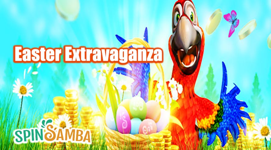 Easter Eggstravaganza with the SpinSamba casino