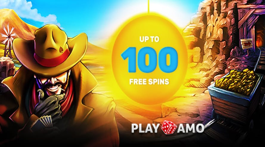 Get 100 free spins every Monday from PlayAmo