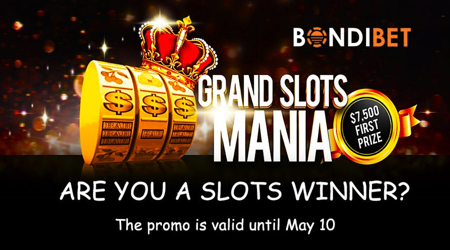 Bondibet casino comes with a great Grand Slots Mania promotion and A$7,500
