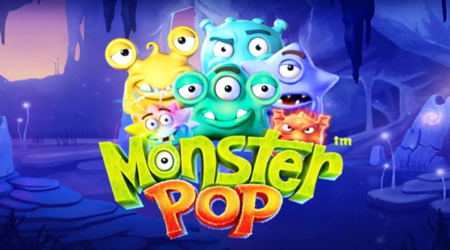 Not all monsters are scary: Monster Pop slot game by BetSoft