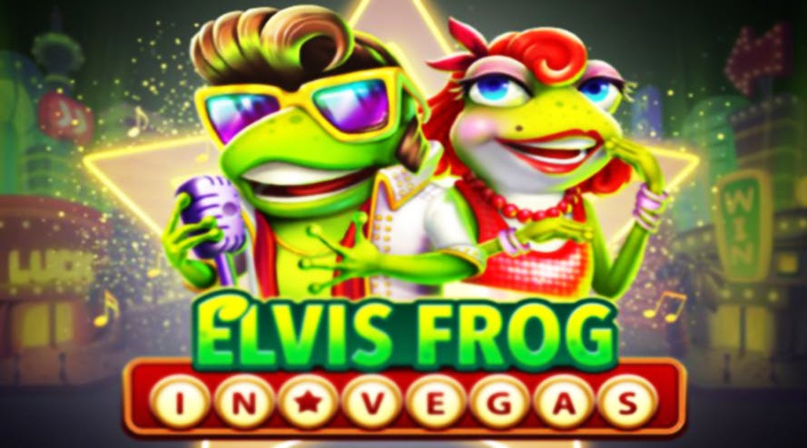 Elvis Frog: In Vegas it's a new rock and roll themed slot by BGaming and SoftSwiss