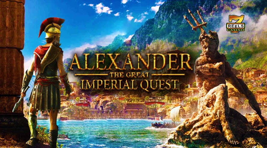 Join the Alexander the Great – Imperial Quest promotion by 7Reels casino and get daily prizes and a $20,000 Amazon voucher