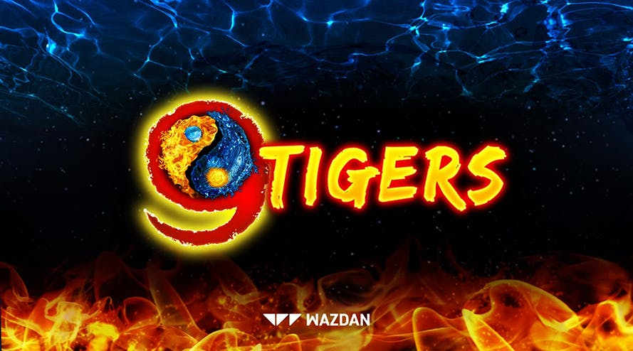 Wazdan has released 9 Tigers slot game based on the Asian culture