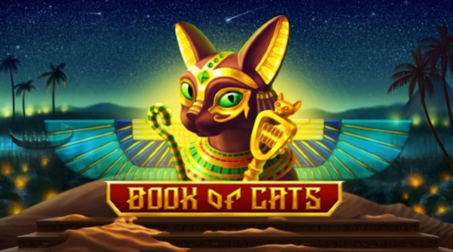 Welcome to Egypt with Book of Cats slot game released by BGaming